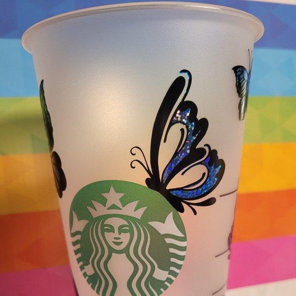 """New 24oz Starbucks Reusable Venti Cold Cups, """"Butt"""